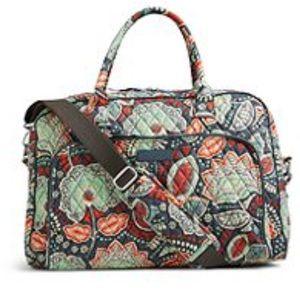 Vera Bradley Weekender Travel Bag Nomadic Floral